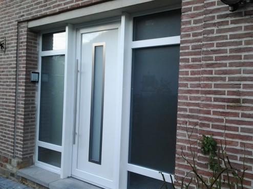 Portes PVC-BOIS-ALU
